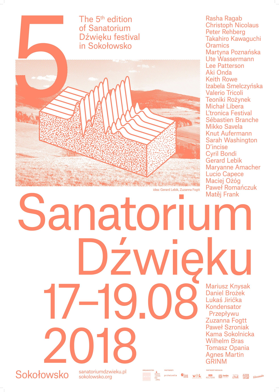 """Festiwal """"Sanatorium Dźwięku"""", 2018 (źródło: materiały prasowe organizatora)"""