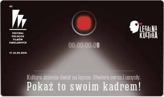 Konkurs filmowy. Legalna Kultura (źródło: materiały prasowe organizatora)
