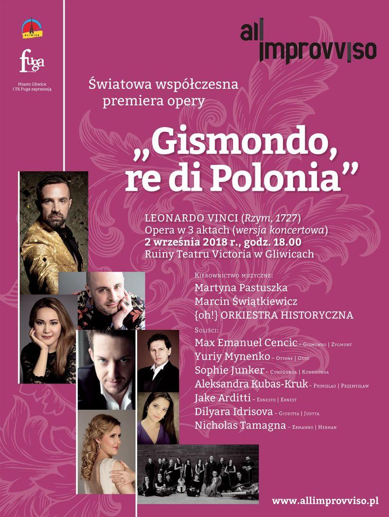 "{oh!} Orkiestra Historyczna, ""Gismondo, Re di Polonia"" (źródło: materiały prasowe)"