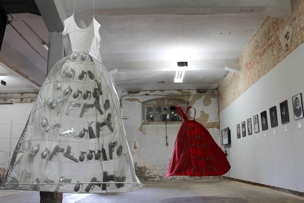 """Anka Leśniak, """"patRIOTki"""", re_form OSTRALE Biennale, Drezno, 2017. fot. dzięki uprzejmości OSTRALE Biennale (źródło: materiały prasowe organizatora)"""