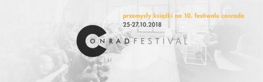 Przemysły Książki na 10. Festiwalu Conrada (źródło: materiały prasowe organizatora)