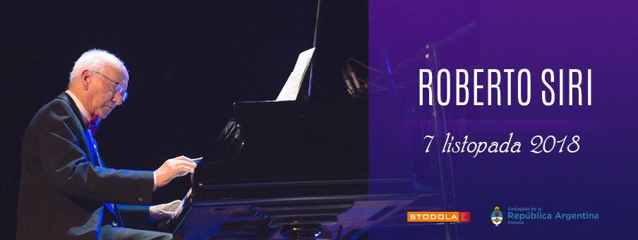 Roberto Siri, koncert w Klubie Stodoła (źródło: materiały prasowe organizatora)