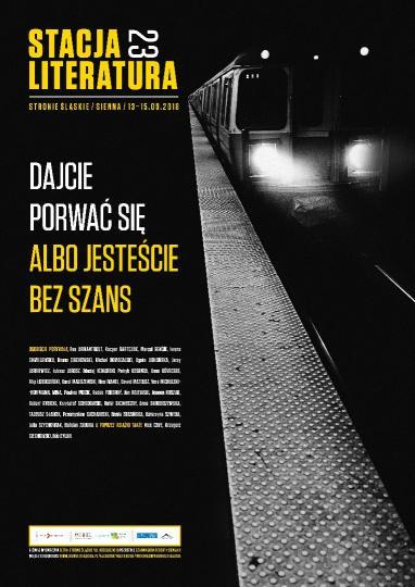 Międzynarodowy Festiwal Stacja Literatura 23 (źródło: materiały prasowe organizatora)