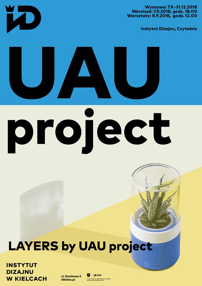 """""""UAU project"""", Instytut Dizajnu w Kielcach (źródło: materiały prasowe organizatorów)"""