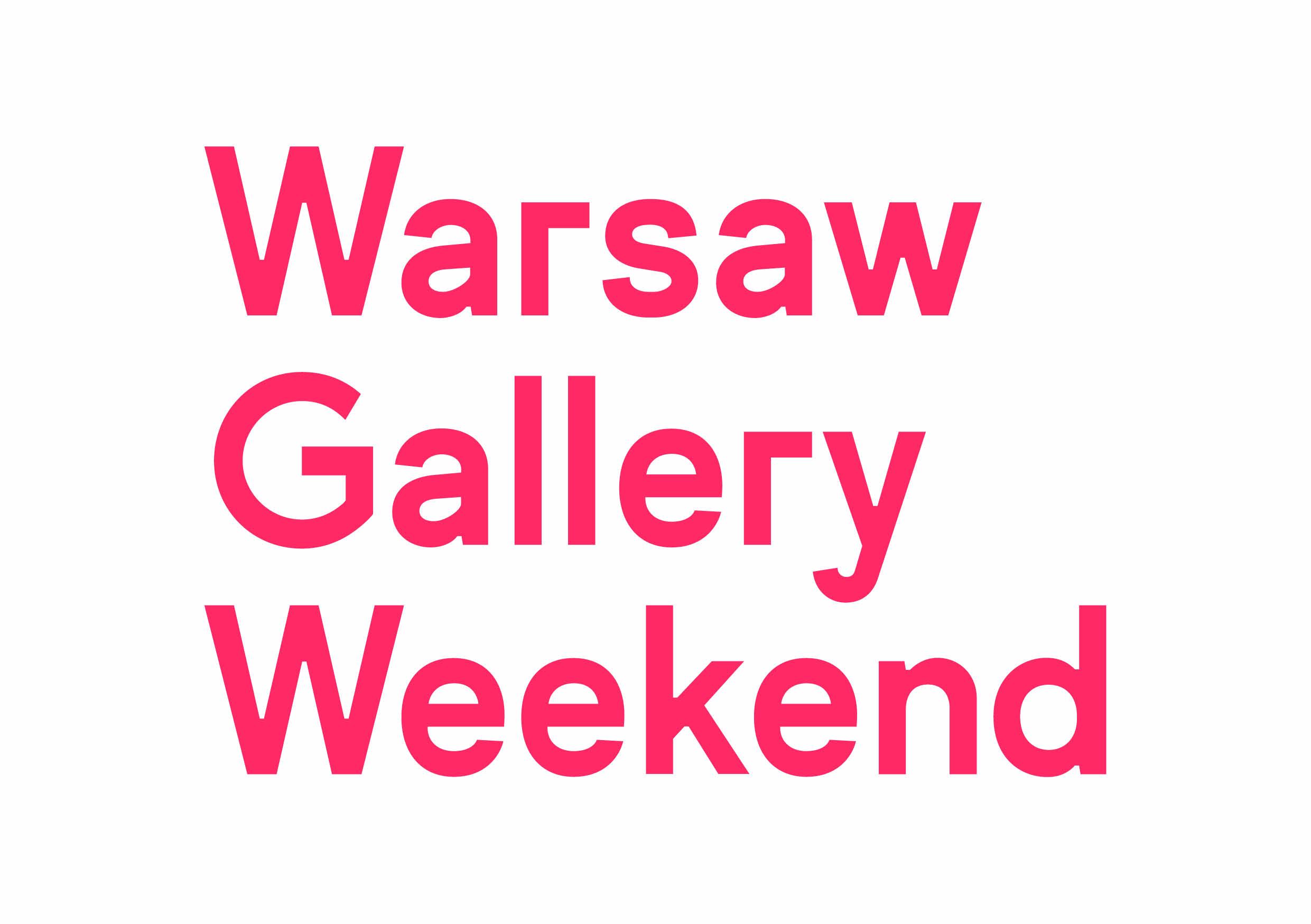 Warsaw Gallery Weekend (źródło: materiały prasowe organizatora)