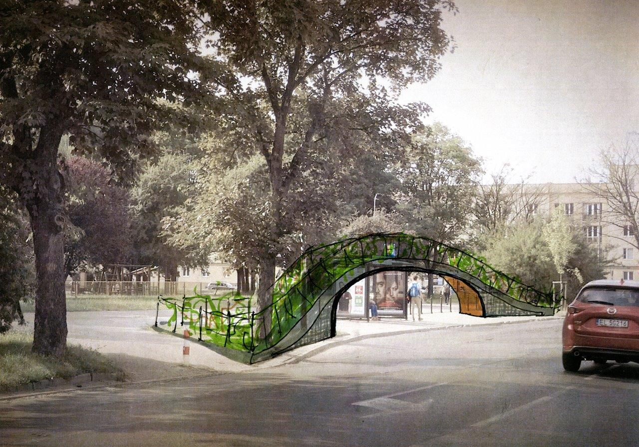 """""""Zielone przystanki"""", Fundacja Kolorowo (źródło: materiały prasowe organizatorów)"""
