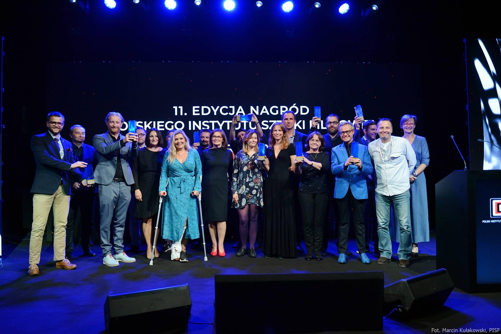 11. Nagrody PISF, fot. M. Kułakowski, PISF (źródło: materiały prasowe organizatora)