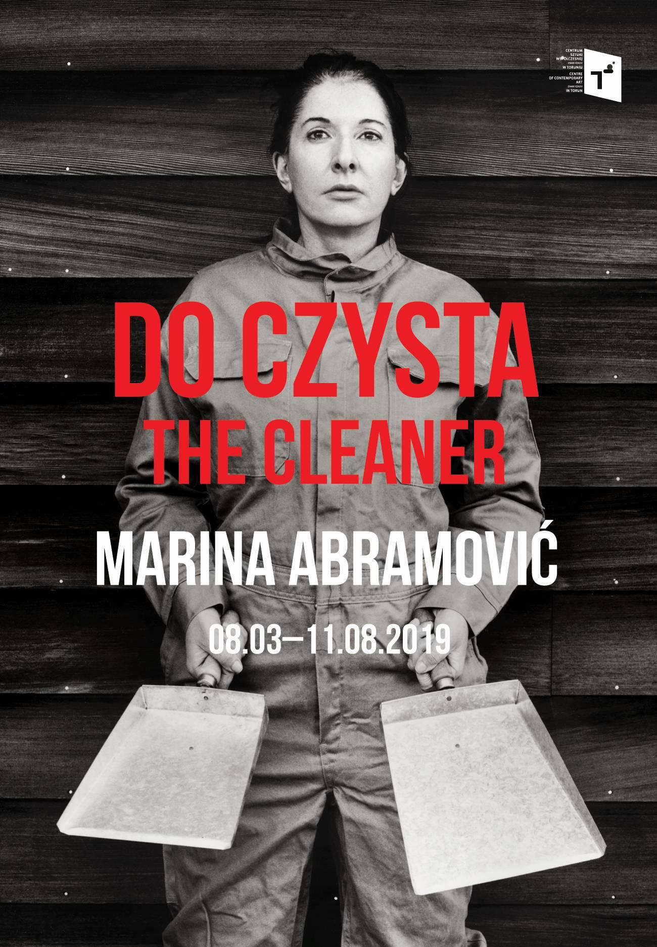 """Marina Abramović, """"Do czysta"""" (źródło: materiały prasowe organizatora)"""