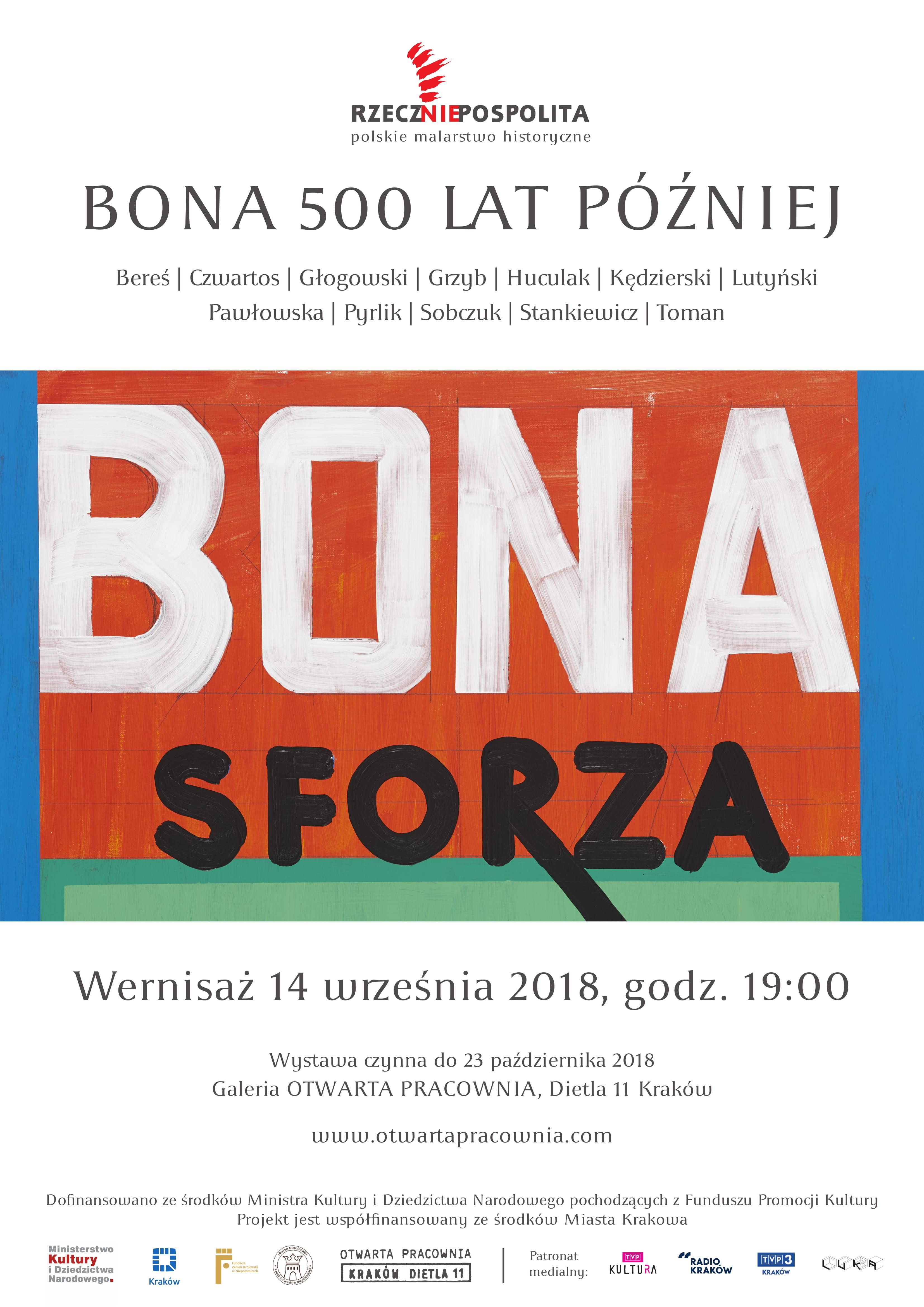 """""""Bona - 500 lat później"""" (źródło: materiały prasowe organizatora)"""