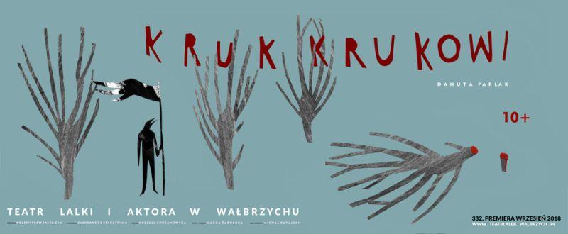 """Danuta Parlak, """"Kruk Krukowi"""", reż. Przemysław Jaszczak (źródło: materiały prasowe teatru)"""