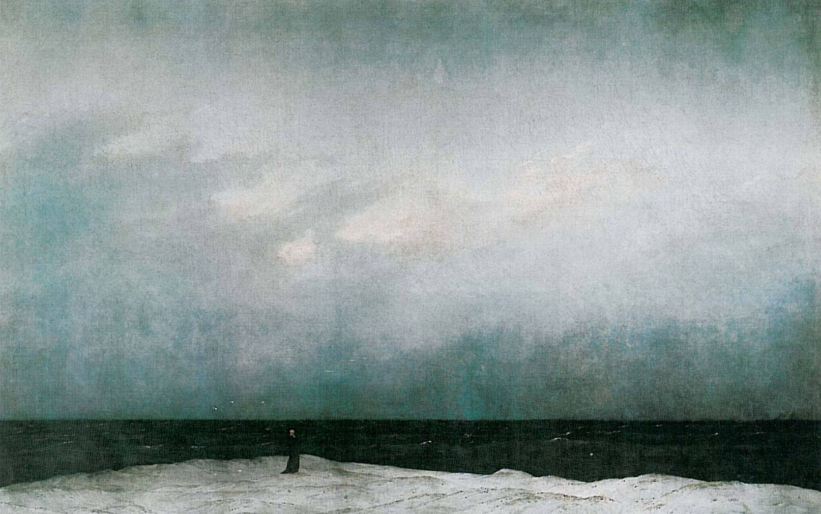 """Der Moench am Meer"" (C.D. Friedrich) (źródło: materiały prasowe organizatora)"