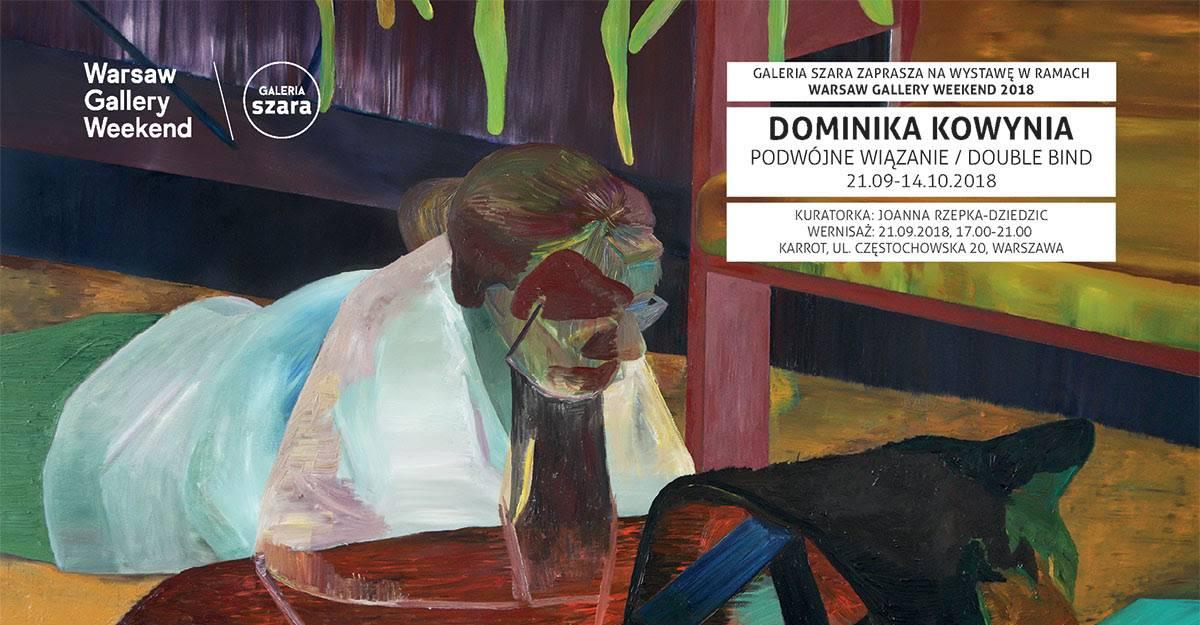 """Dominika Kowynia, """"Podwójne wiązanie"""" (źródło: materiały prasowe organizatora)"""