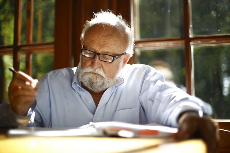 Krzysztof Penderecki, fot. Bruno Fidrych (źródło: materiały prasowe organizatora)