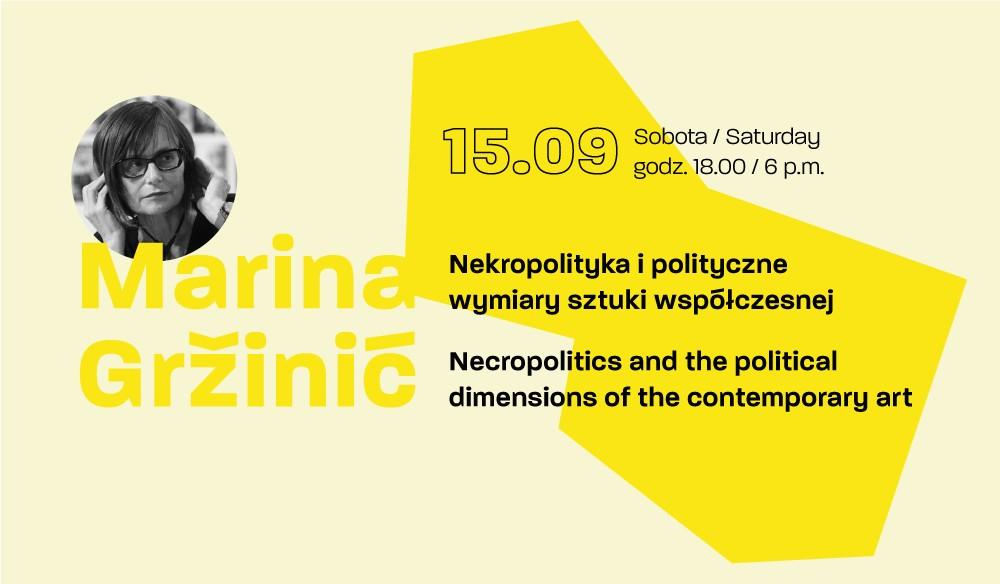RESEARCH TANK: Marina Gržinić (źródło: materiały prasowe organizatora)
