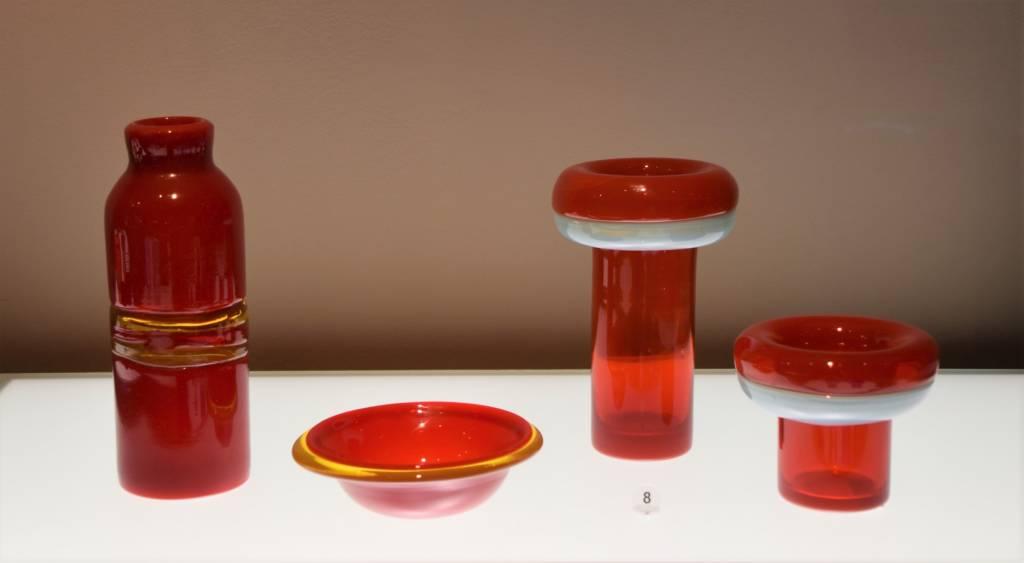 naczynia autorstwa Ryszarda Serwickiego ze zbiorów Centrum Ceramiki i Szkła Lipowa 3, arch. Muzeum w Gliwicach (źródło: materiały prasowe organizatora)