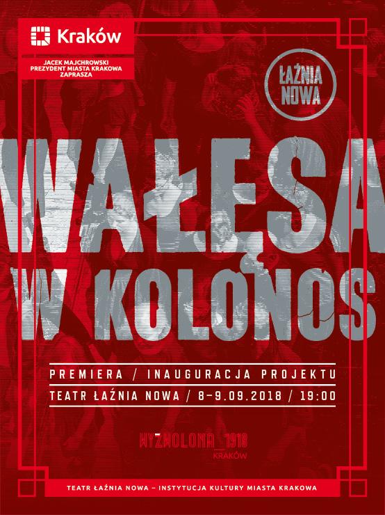 """""""Wałęsa w Kolonos"""", reż. Bartosz Szydłowski (źródło: materiały prasowe teatru)"""
