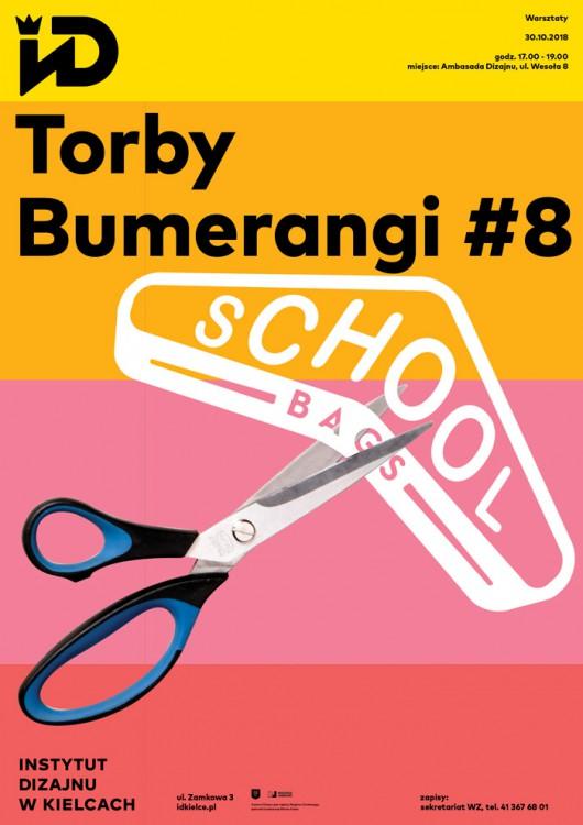 """""""Torby Bumerangi"""", Instytut Dizajnu w Kielcach (źródło: materiały prasowe organizatorów)"""