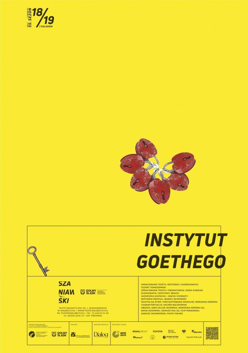 """""""Instytut Goethego"""", reż. Cezary Tomaszewski (źródło: materiały prasowe teatru)"""
