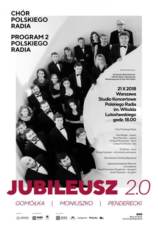 Koncert Jubileuszowy Chóru Polskiego Radia (źródło: materiały prasowe organizatora)