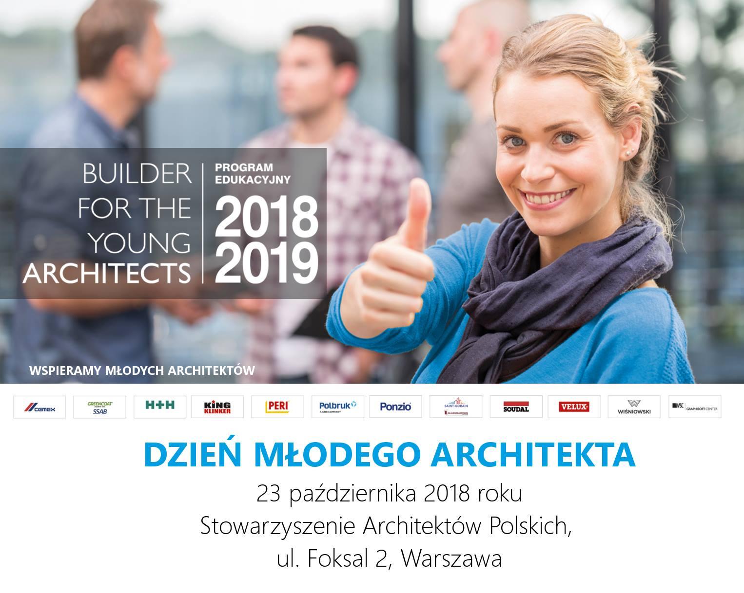 """""""I Dzień Młodego Architekta"""", 4YoungArchitects, SARP Warszawa (źródło: materiały prasowe organizatorów)"""
