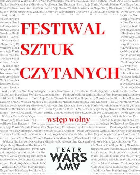 Festiwal Sztuk Czytanych (źródło: materiały prasowe teatru)