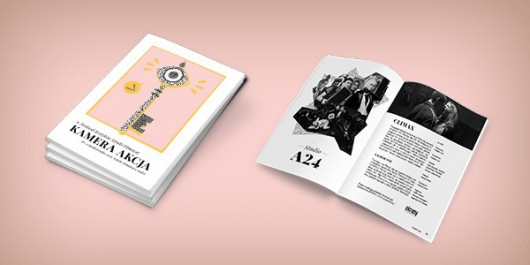 Katalog 9. Festiwal Kamera Akcja (źródło: materiały prasowe organizatora)