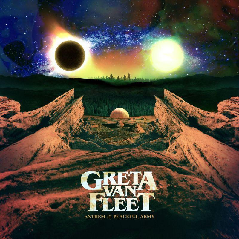 """Greta Van Fleet, """"Anthem of The Peaceful Army"""" (źródło: materiały prasowe wydawcy)"""