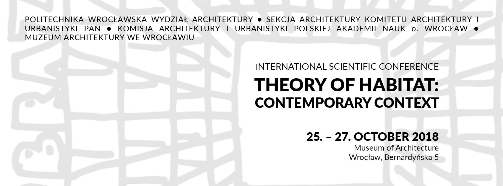 """""""Teoria habitatu: współczesny kontekst"""", Muzeum Architektury we Wrocławiu (źródło: materiały prasowe organizatorów)"""