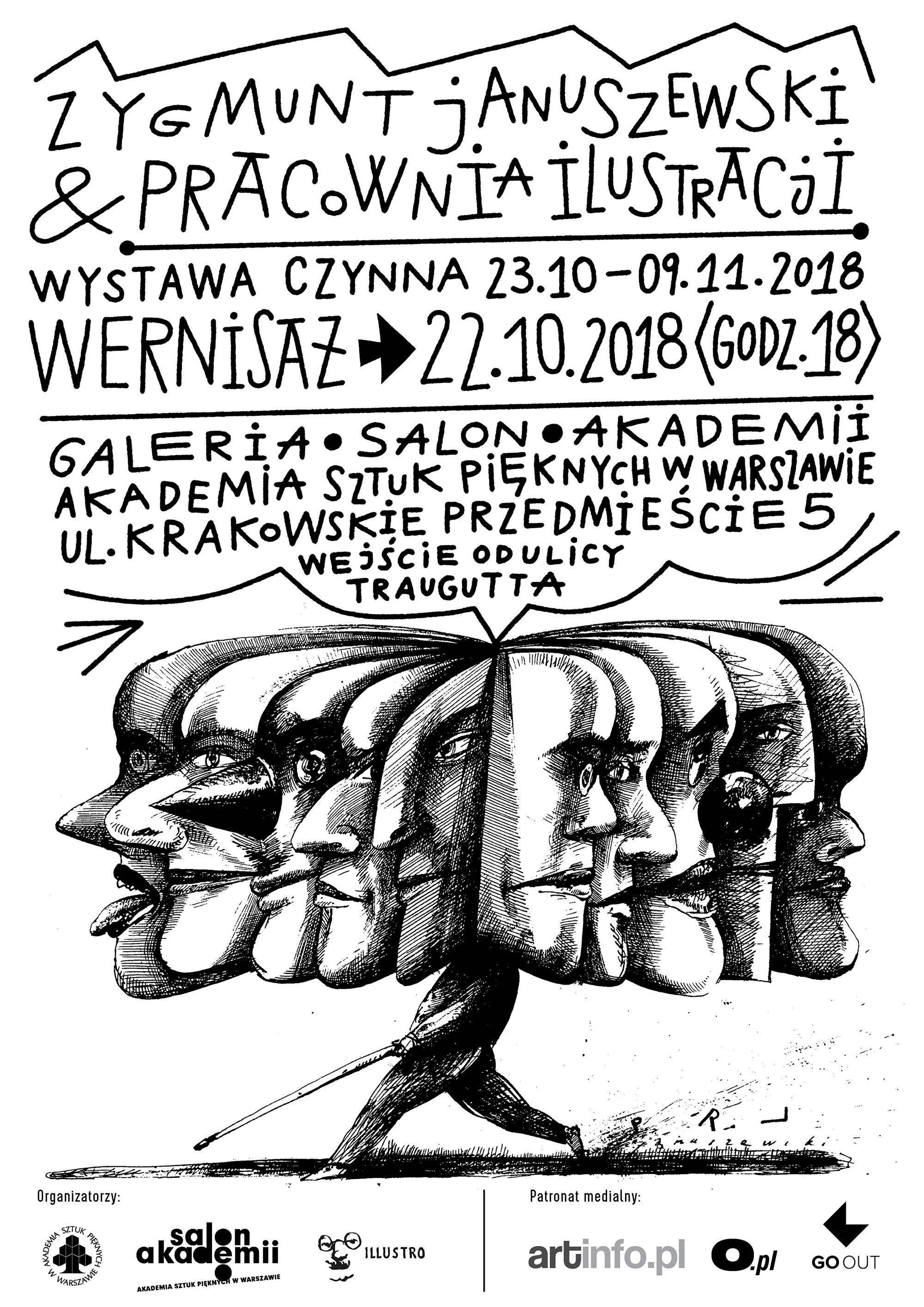 """""""Zygmunt Januszewski & Pracownia Ilustracji"""" (źródło: materiały prasowe organizatora)"""