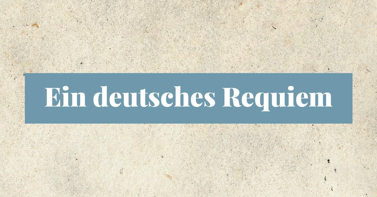"""Johannes Brahms, """"Ein deutsches Requiem"""" (źródło: materiały prasowe teatru)"""