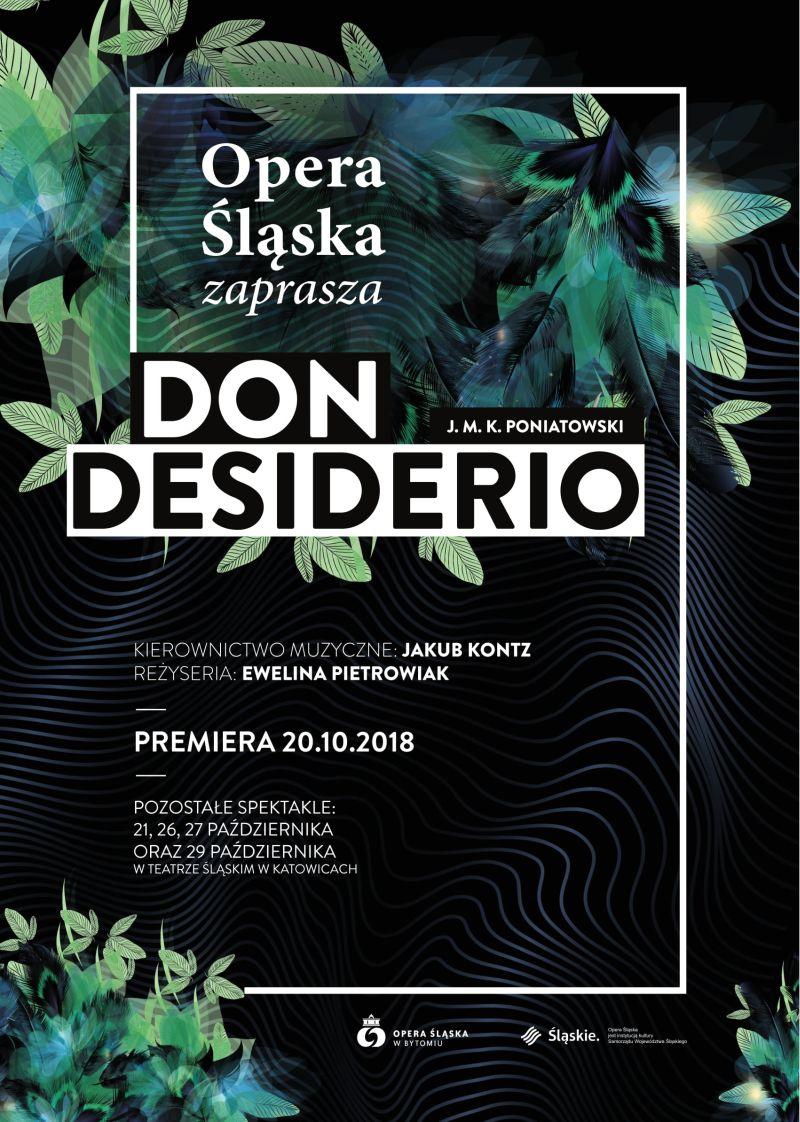 """Józef Michał Ksawery Poniatowski, """"Don Desiderio"""", reż. Ewelina Pietrowiak (źródło: materiały prasowe opery)"""