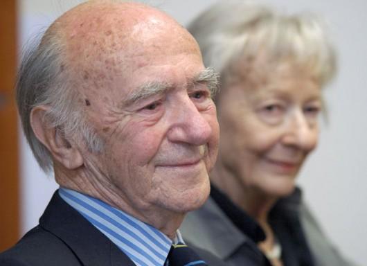 Karl Dedecius, Wisława Szymborska, fot. Paweł Mazur (źródło: materiały prasowe organizatora)