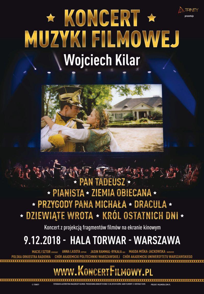 Koncert Muzyki Filmowej Wojciecha Kilera (źródło: materiały prasowe)
