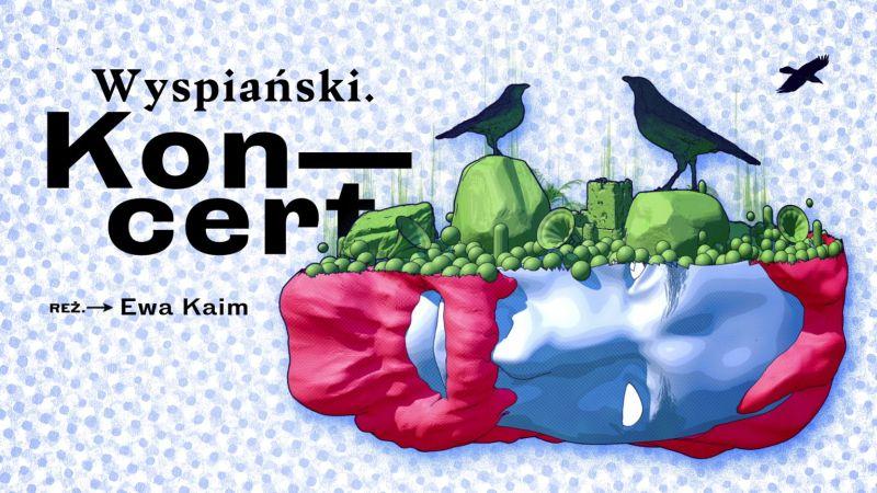 """""""Koncert. Wyspiański"""", reż. Ewa Kaim (źródło: materiały prasowe teatru)"""