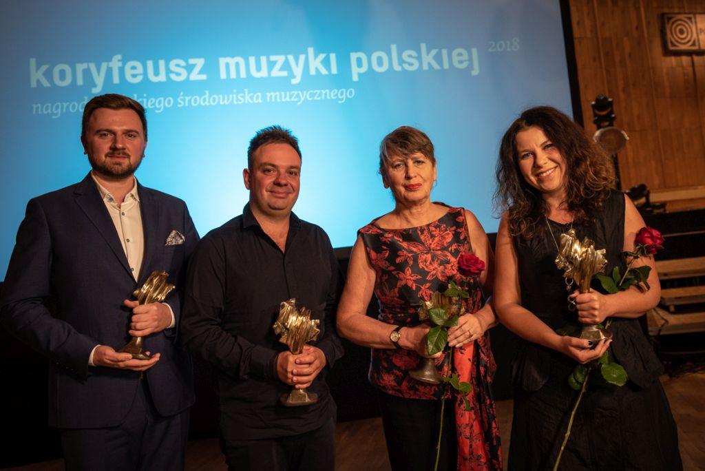 Laureaci. Koryfeusze Muzyki Polskiej 2018 (źródło: materiały prasowe)