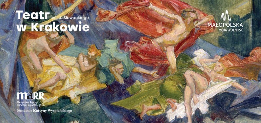 Kurtyna Wyspiańskiego, wyk. Tadeusz Bystrzak (źródło: materiały prasowe teatru)