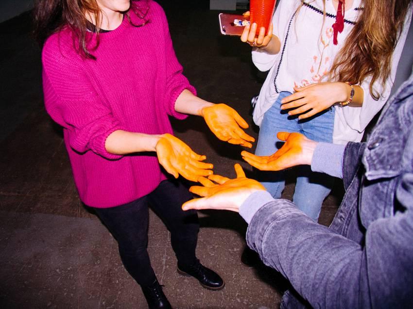 "Lygia Pape, ""Good Blood"" fot. Karolina Wojtas (źródło: materiały prasowe organizatora)"