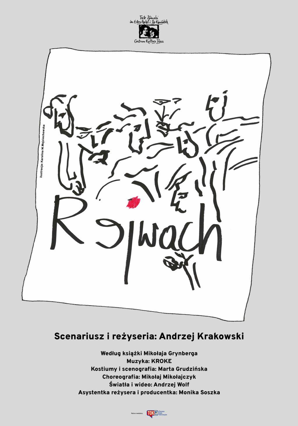 """Mikołaj Grynberg, """"Rejwach"""", reż. Andrzej Krakowski (źródło: materiały prasowe teatru)"""