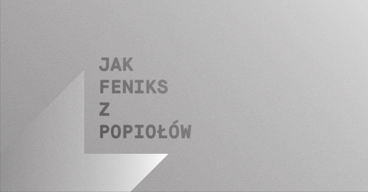"""""""Jak Feniks z popiołów"""" reż. Peter Beveridge, Muzeum Architektury we Wrocławiu (źródło: materiały prasowe organizatorów)"""