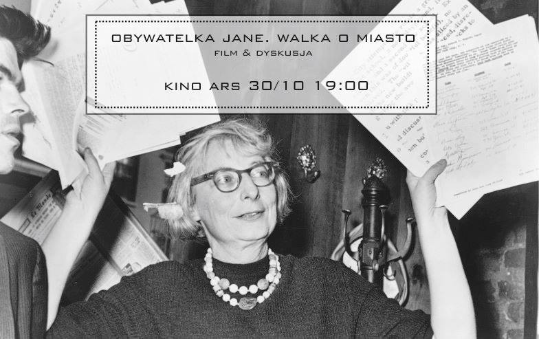 """""""Obywatelka Jane"""", kino Ars, Kraków, Kraków na warsztat (źródło: materiały prasowe organizatorów)"""