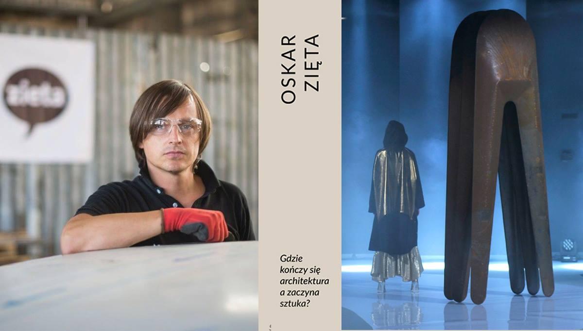 """Oskar Zięta, """"Gdzie kończy się architektura a zaczyna sztuka?"""" Vivid Gallery (źródło: materiały prasowe organizatorów)"""