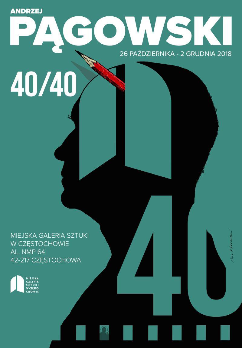 """""""Andrzej Pągowski 40/40"""" (źródło: materiały prasowe organizatora)"""