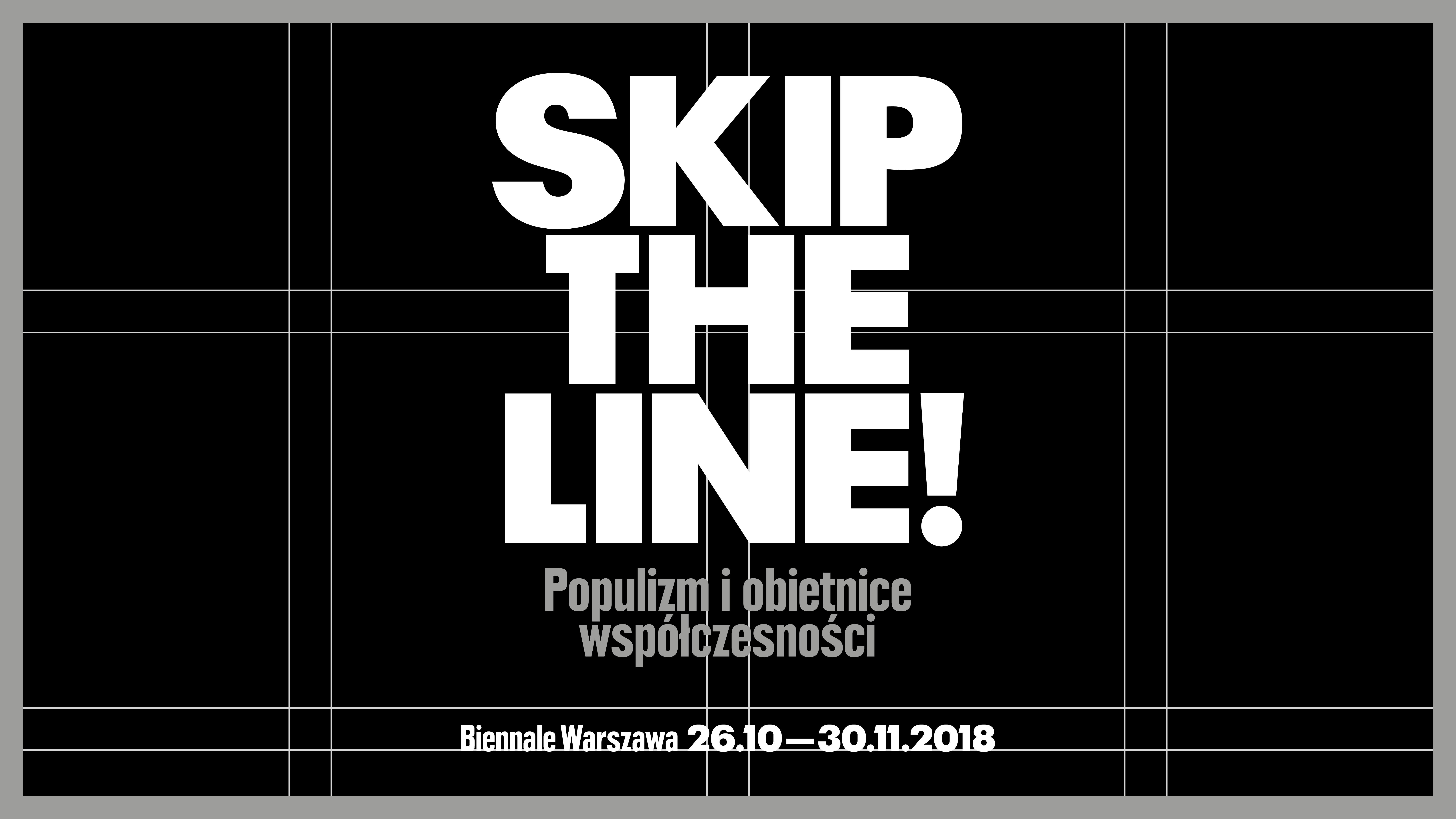 """""""SKIP THE LINE!"""" (źródło: materiały prasowe organizatora)"""