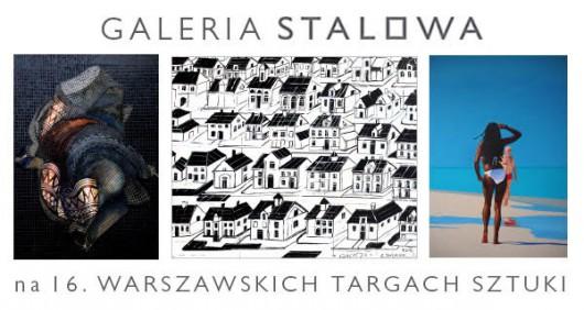 Galeria Stalowa na Warszawskich Targach Sztuki (źródło: materiały prasowe organizatora)