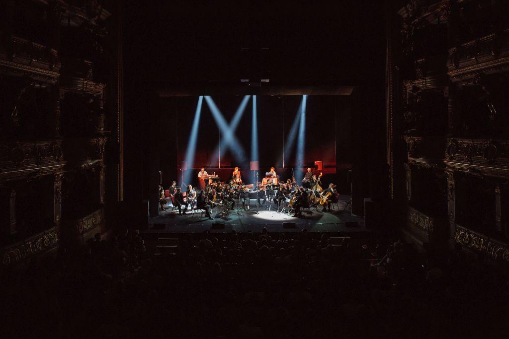 Koncert pamięci Jóhanna Jóhannssona na Unsound Festival 2018, fot. Michał Ramus (źródło: materiały prasowe organizatora)