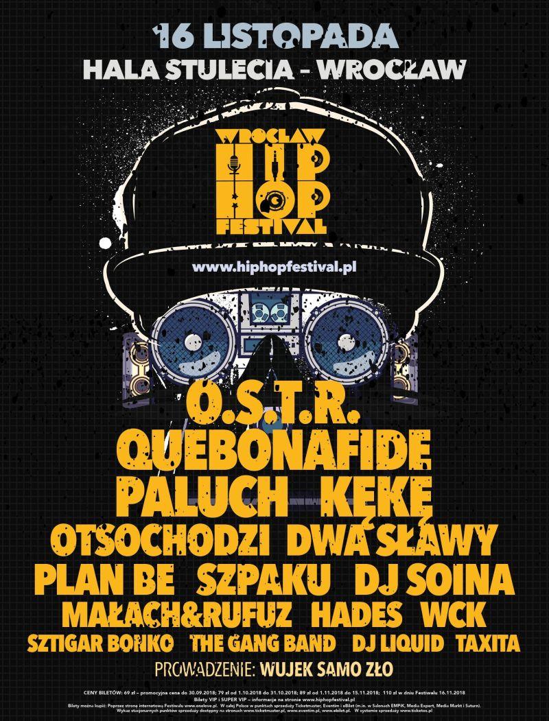 Wrocław Hip Hop Festival (źródło: materiały prasowe organizatora)