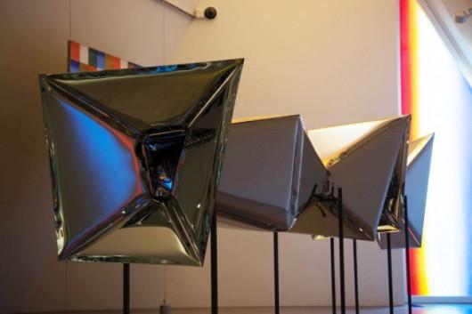 """Oskar Zięta, """"Instalacja Crystal"""", Muzeum Jerke, Recklinghausen (źródło: materiały prasowe organizatorów)"""