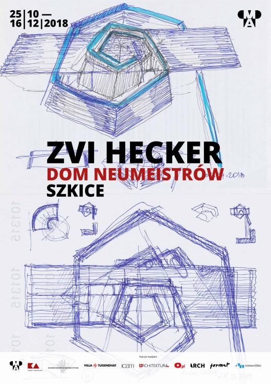 """""""Zvi Hecker. Dom Neumeistrów. Szkice"""", Muzeum Architektury we Wrocławiu (źródło: materiały prasowe organizatorów)"""