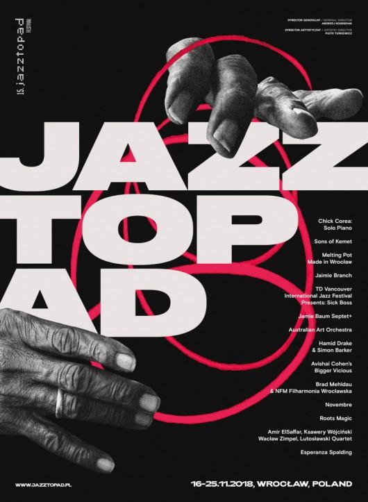 15. Jazztopad Festival (źródło: materiały prasowe organizatora)