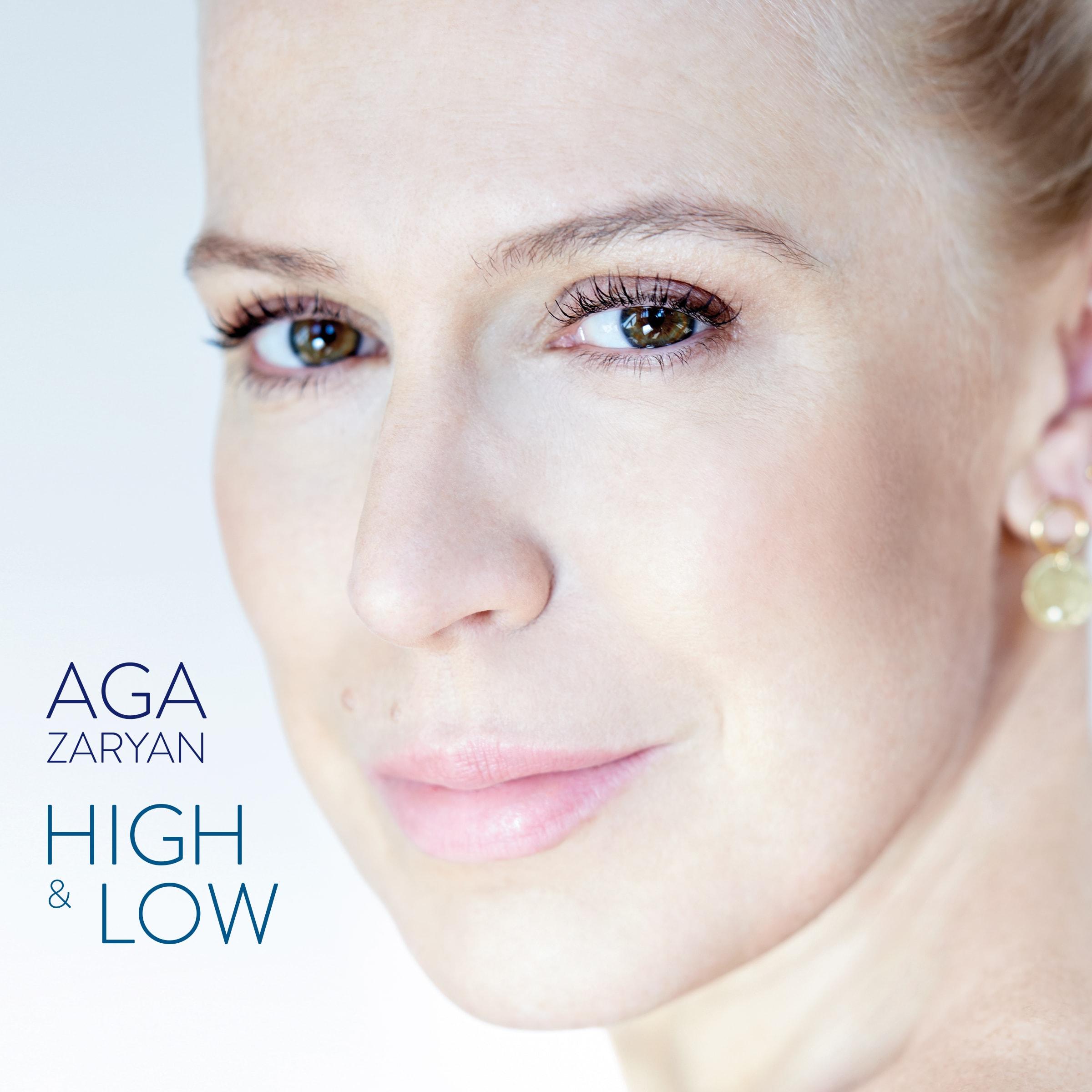 """Aga Zaryan, """"High & Low"""" (źródło: materiały prasowe wydawcy)"""